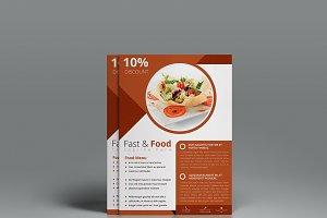 A4 Food Flyer