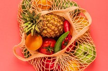 Fresh vegetables and fruits by  in Food & Drink