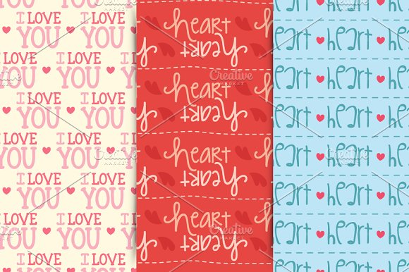 Valentine´s Patterns in Patterns - product preview 1