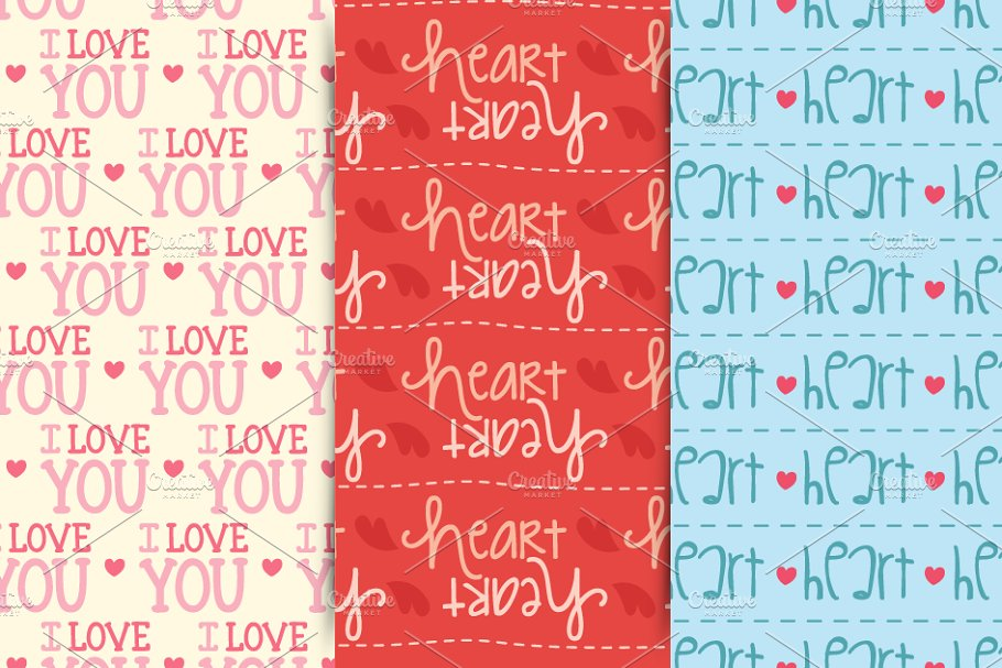 Valentine´s Patterns in Patterns - product preview 8