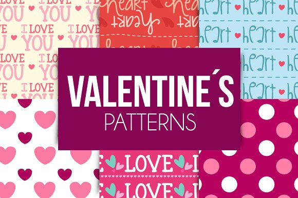 Valentine´s Patterns in Patterns - product preview 3