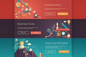 Business Infographics Banners 3