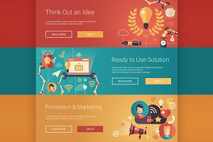Business Infographics Banners 4