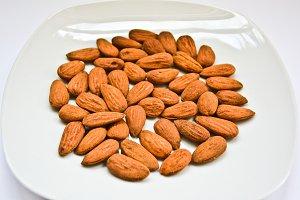Almonds plate