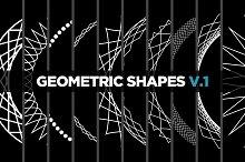 10 Geometric Shapes v.1