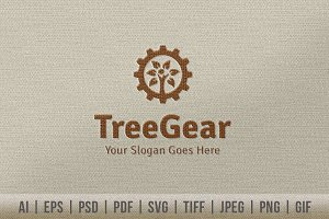 Tree Gear Logo