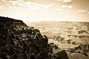 Grand Canyon oldie effect