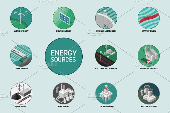 difference between renewable and nonrenewable sources of energy