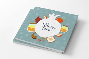 Shana Tova Card Template