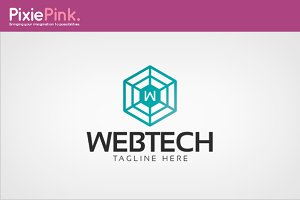 Web Tech Logo Template