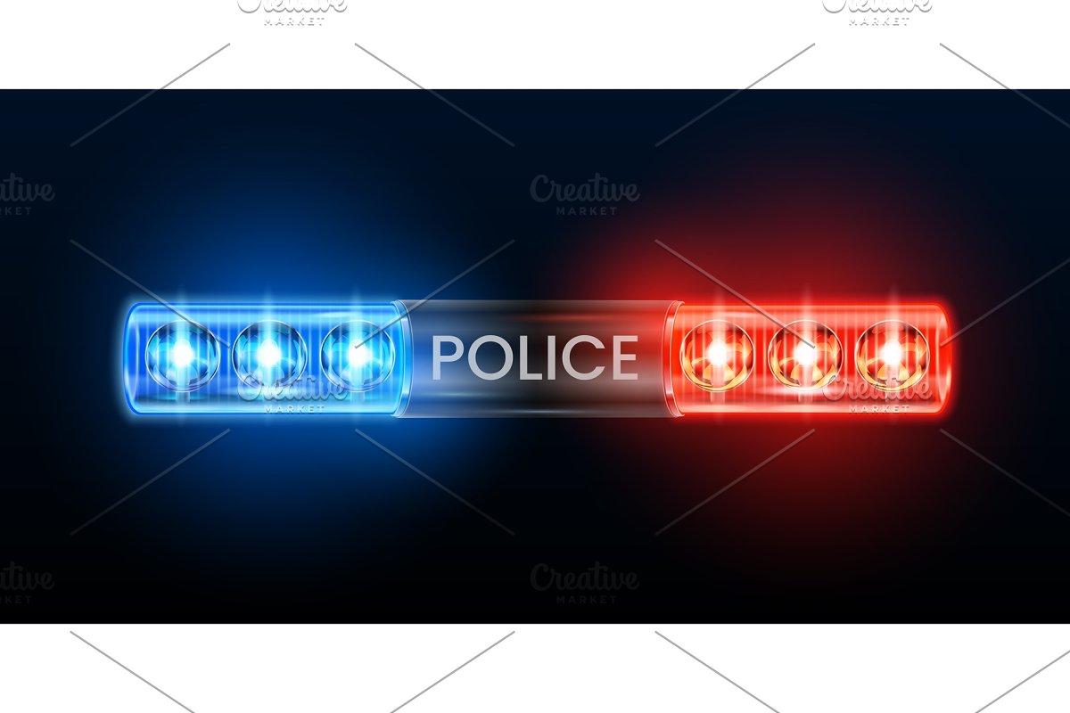 Police Siren Lights Beacon Flasher