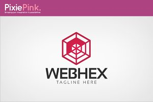 Web Hex Logo Template