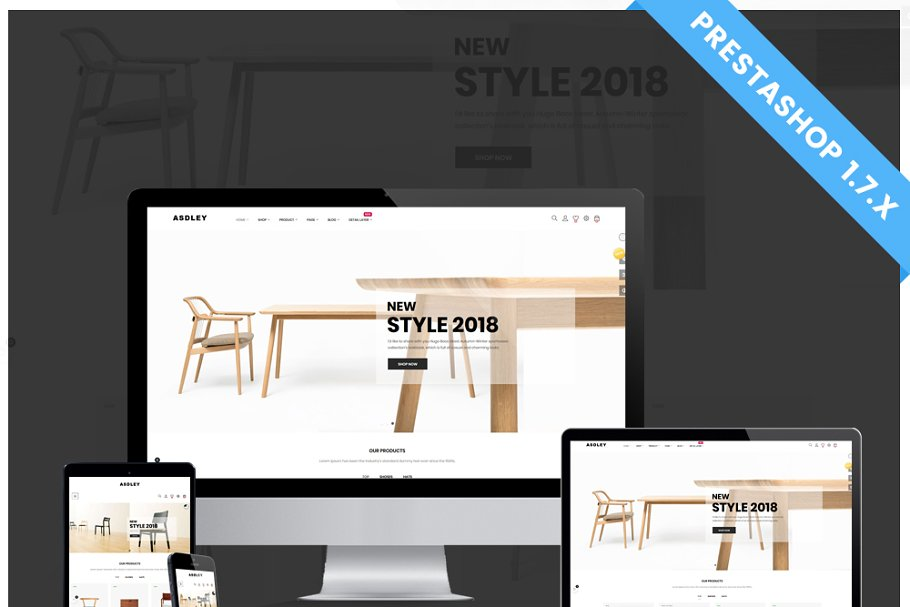Estilo Furniture  Prestashop 1.7.6x