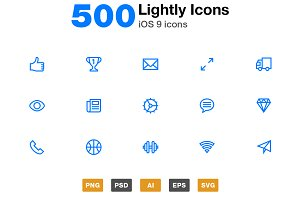 Lightly Icons