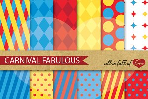 Carnival Background Abstract Pattern