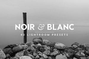 Noir & Blanc Lightroom Presets