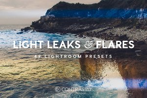 Light Leaks & Flares LR Presets