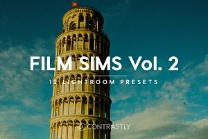 Film Sims Vol. 2 Lightroom Presets