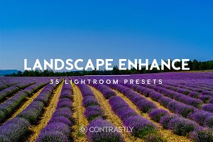 Landscape Enhance Lightroom Preset
