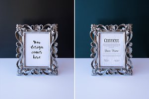 #3 Frame Mockup JPG + PSD, 8 files