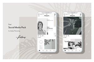 Lifestyle Social Media Pack • Íma