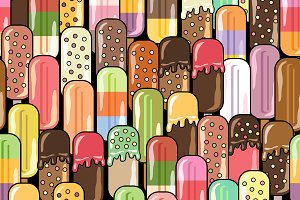 Ice Cream Stick set