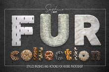 Fur Styles, Actions, Brushes by  in Actions