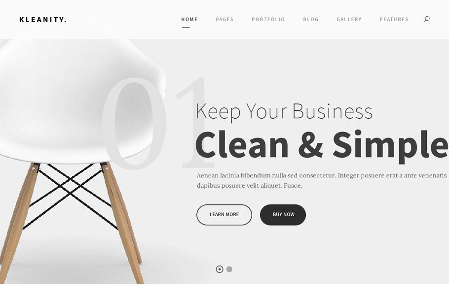 Minimalist Creative & HTML Template