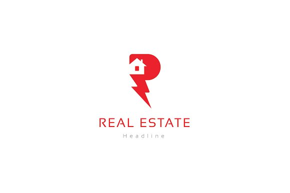 Real estate company logo.