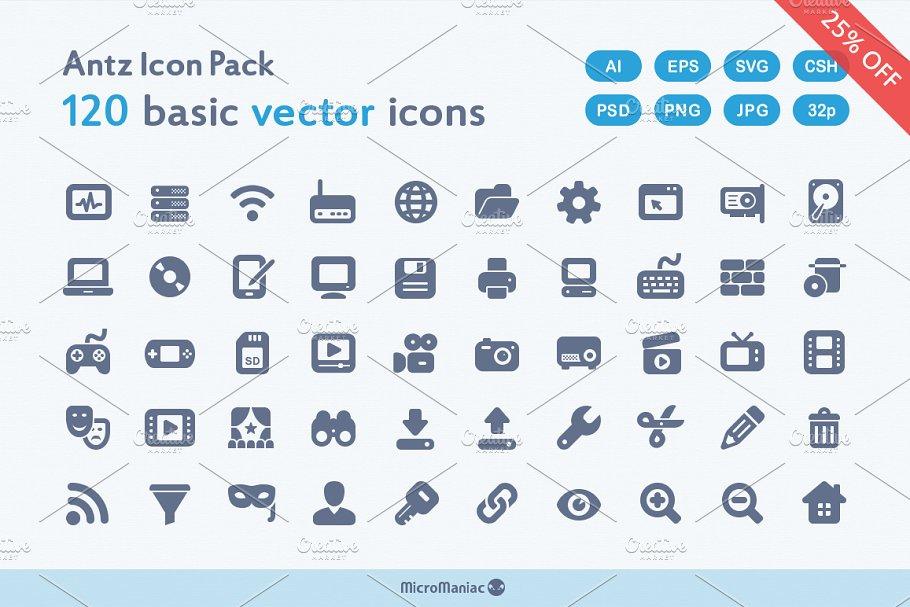 Antz Icon Pack