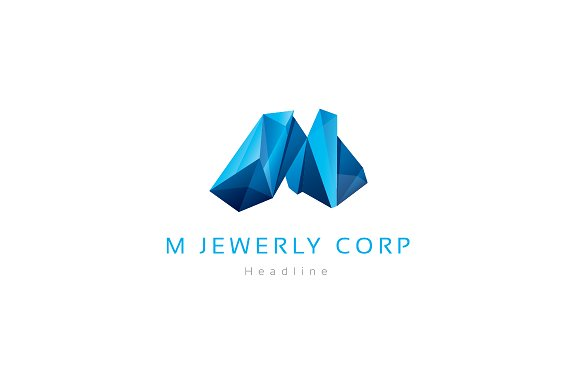 M Jewelry corporation logo.