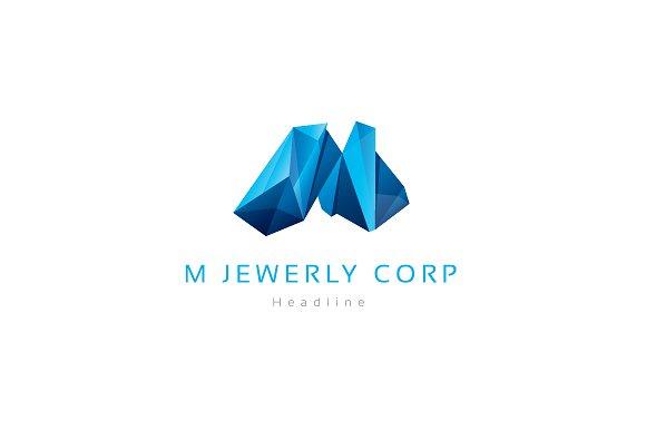 M Jewelry corporation logo.