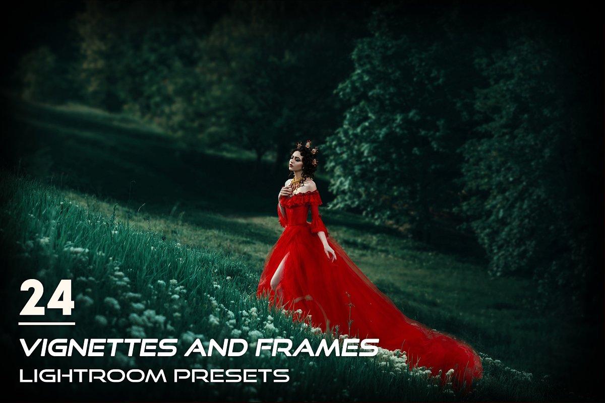 24 Vignettes and Frames Presets