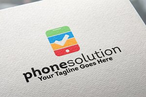 Phone Solution Logo