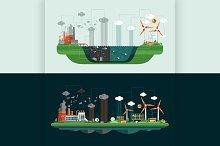 Conceptual Landscape Illustrations