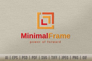 Minimal Frame Logo