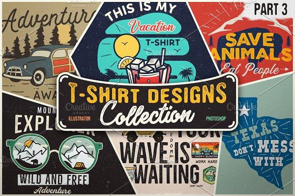 T-Shirt Designs Vector Bundle Part 3