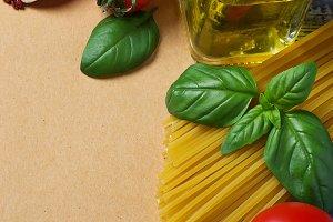 Concept of italian food