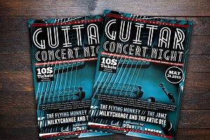 Guitar Concert Flyer