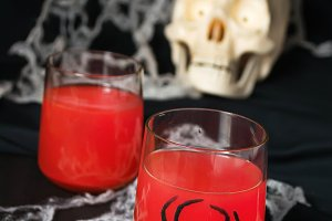 Red halloweens cocktails