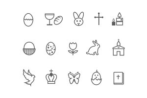 12 Easter Icons