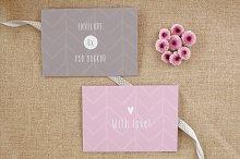 Envelope/card vol.2- 6 photo mockups