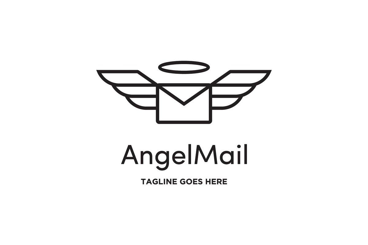 angel mail logo