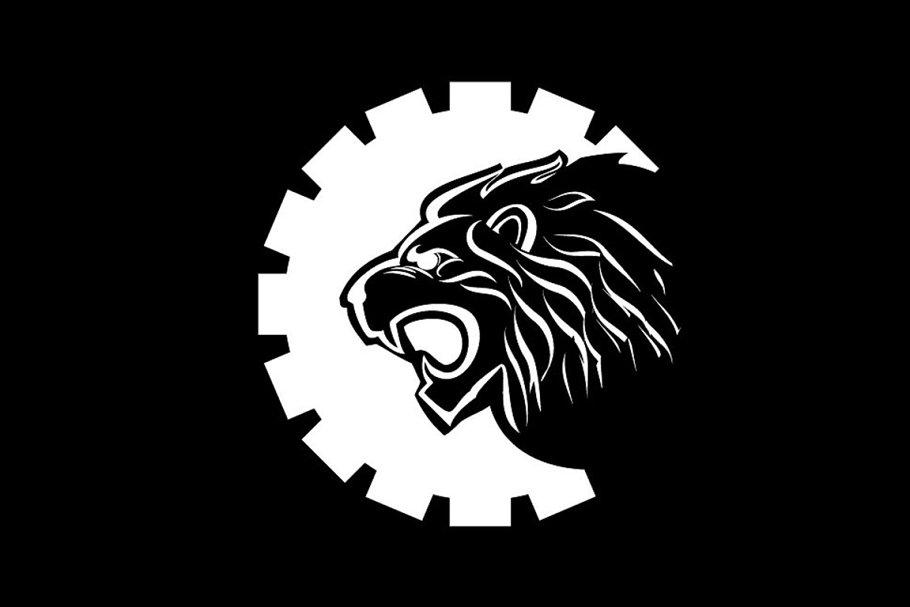 lion gear – Logo Template