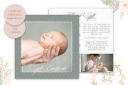 PSD Photo Gift Card Template #28