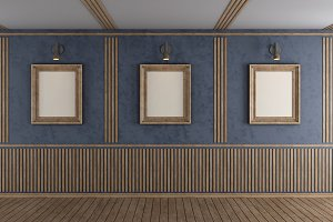 Empty room Photos, Graphics, Fonts, Themes, Templates
