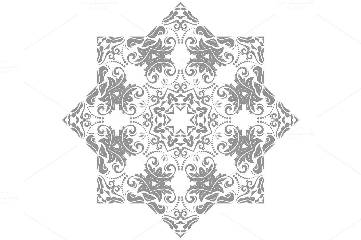 Elegant Vector Ornament in Classic
