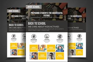 Kids Education FlyerTemplates