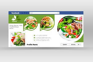 Food & Restaurants Facebook Cover