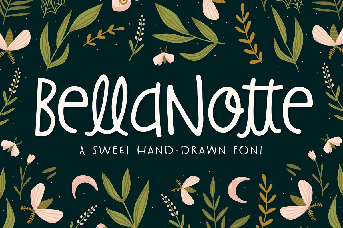 BellaNotte Font ~ Display Fonts ~ Creative Market